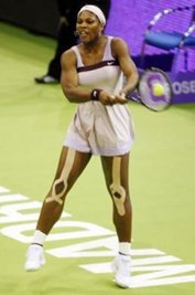 Serena Williams Kineseotaping