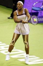 Serena Williams Kineseotaping